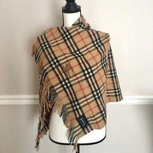 Authentic Burberry brown nova check shawl/ scarf